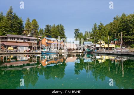 USA Alaska Elfin Cove - Stock Photo