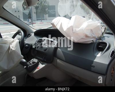 Dummy Car Crash Cross Section