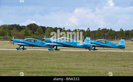 The Blades Aerobatic Flying Display Team, UK - Stock Photo