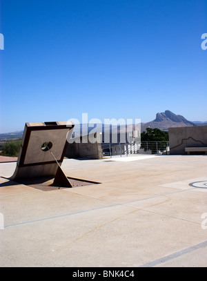 VIEWS OF THE DOLMENS ANCIENT BURIAL GROUND ANTEQUERA ANDALUCIA SPAIN - Stock Photo