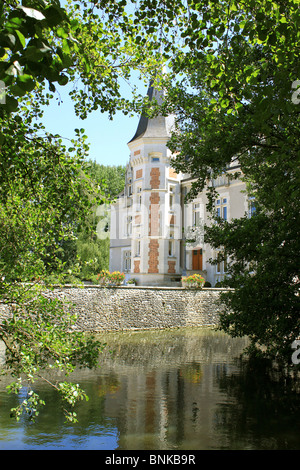 Photo of Castle in Villemandeur Lisledon in the Loiret - Stock Photo