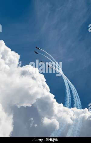 The Blades Aerobatic Flying Display Team, UK - Stock Photo