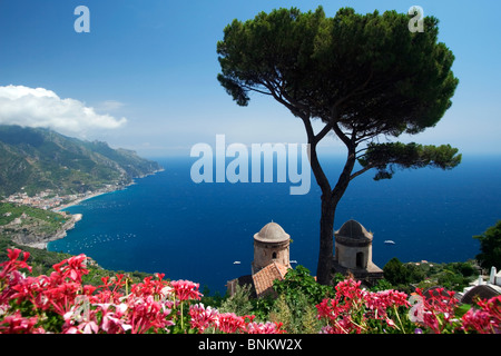 Ravello, Campani, amalfi, coast, Italy - Stock Photo