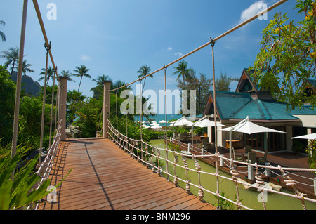 Asia Asian island isle Krabi South-East Asia Thailand Centara Resort hotel hotel arrangement vacation traveling - Stock Photo