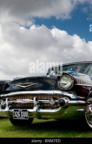 1957 Chevrolet, Bel Air. Chevy. Classic American car - Stock Photo