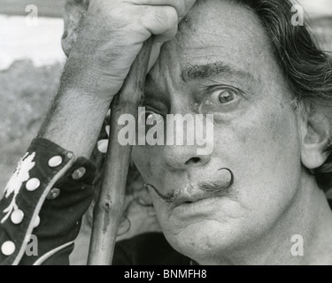 SALVADOR DALI  (1984-89) Spanish artist - Stock Photo