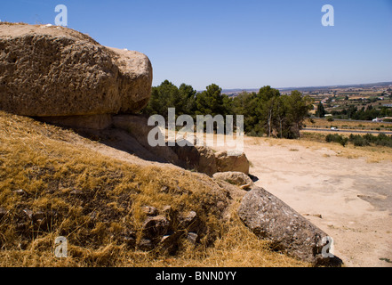 DOLMENS AT ANTEQUERA - Stock Photo