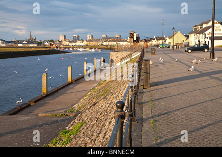 Irvine, Scotland - Stock Photo