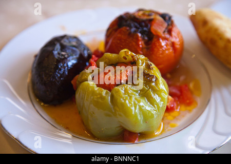 Azeri dolma in Baku, Azerbaijan - Stock Photo