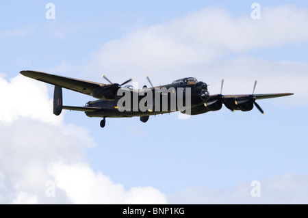 Avro Lancaster B1 operated by the RAF Battle of Britain Flight. - Stock Photo
