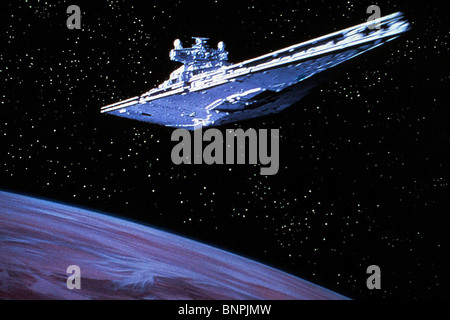 STAR DESTROYER STAR WARS: EPISODE IV - A NEW HOPE (1977) - Stock Photo