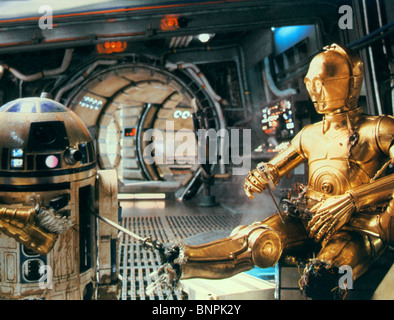 anthony daniels in costume as c3po in quotstar wars episode
