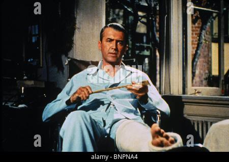 JAMES STEWART REAR WINDOW; (1954) - Stock Photo