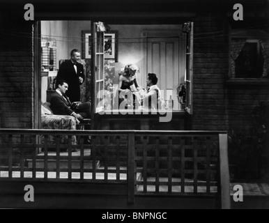 WINDOW SCENE REAR WINDOW; (1954) - Stock Photo