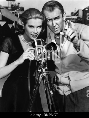 GRACE KELLY, JAMES STEWART, REAR WINDOW, 1954 - Stock Photo