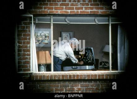 RAYMOND BURR REAR WINDOW; (1954) - Stock Photo