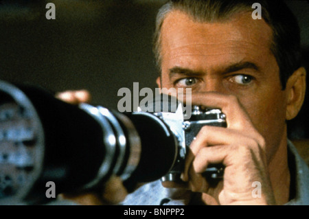 JAMES STEWART REAR WINDOW; (1954) - Stock Photo