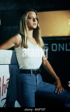 TAXI DRIVER 1976 Columbia film with Jodie Foster Stock ...