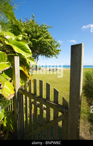 Gate to the Ocean - Stock Photo