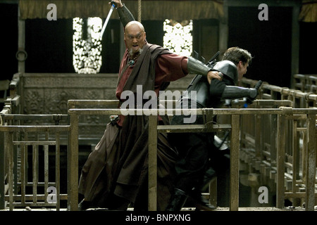 Batman Begins Ken Watanabe, Christian Bale © 2005 Warner ...