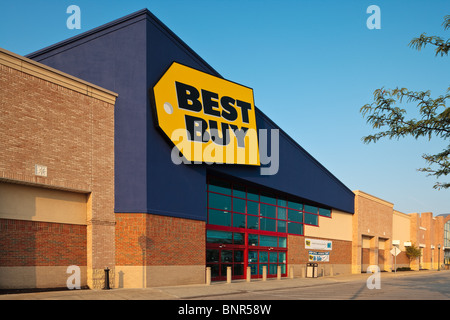 a best buy electronics store in midtown in new york on thursday stock photo royalty free image. Black Bedroom Furniture Sets. Home Design Ideas