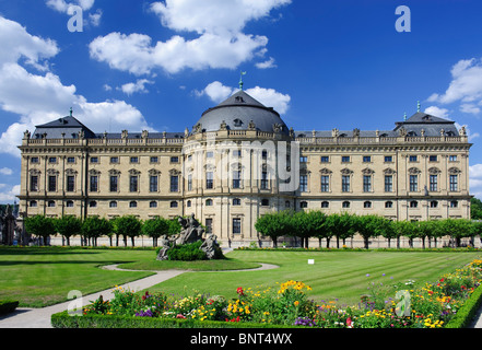 The Residence in Würzburg - Stock Photo
