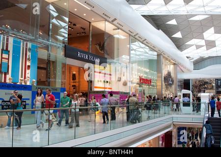 Westfield Shopping Centre - Shepherd's Bush - London - Stock Photo