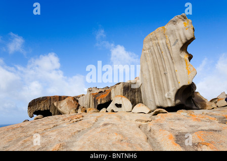 Remarkable Rocks on the south coast of Kangaroo Island, South Australia, AUSTRALIA. - Stock Photo