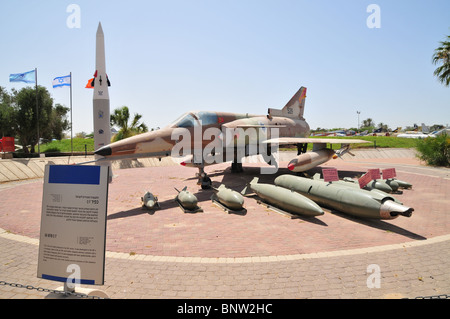 Israel Aircraft Industries Kfir an all-weather, multi-role combat aircraft - Stock Photo