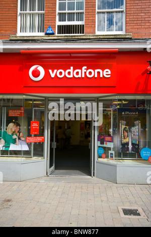 Vodafone Shopfront England - Stock Photo