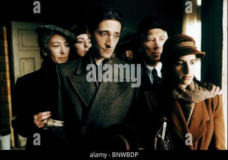 MAUREEN LIPMAN JULIA RAYNER ADRIEN BRODY ED STOPPARD FRANK FINLAY & JESSICA KATE MEYER THE PIANIST (2002) - Stock Photo