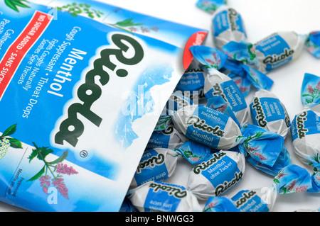 Cough Drops (Lozenges) - Stock Photo