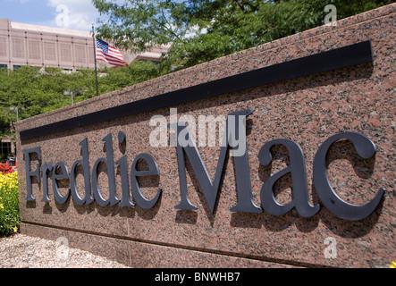 Mortgage Lender Freddie Mac Headquarters.  - Stock Photo
