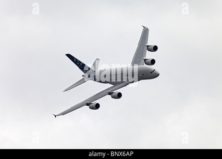 Farnborough Airbus industries A380 - Stock Photo