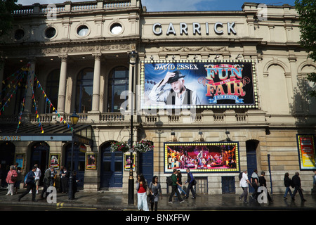 The Garrick Theatre, Charing Cross Road, Londons West End, England, UK - Stock Photo