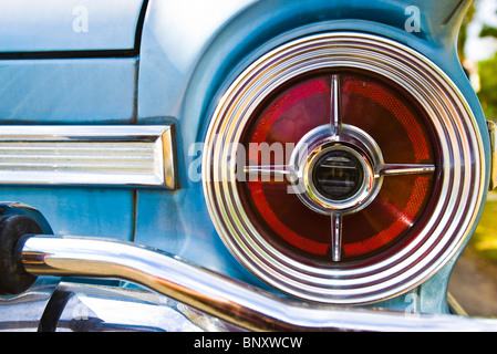 Tail light of Ford Falcon Futura - Stock Photo