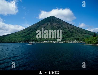Mount Nantai and Lake Chuzenji, Nikko, Tochigi, Japan
