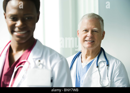 Doctors, portrait - Stock Photo