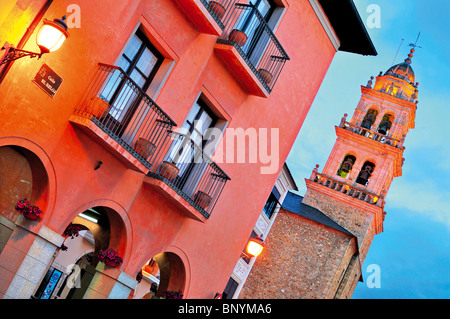 Spain, St. James Way: Historic centre of Ponferrada - Stock Photo