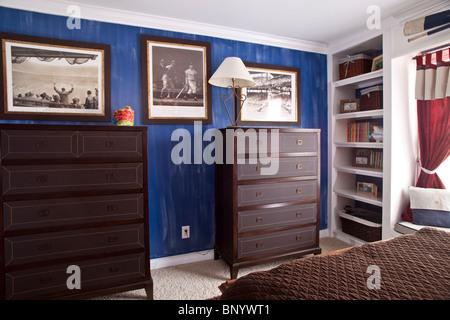 Boys bedroom - Stock Photo