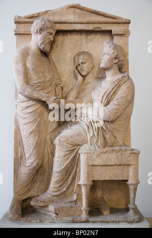 Pergamon Museum artifacts in Berlin, Germany - Stock Photo