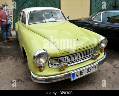 Vintage car Wartburg - Stock Photo