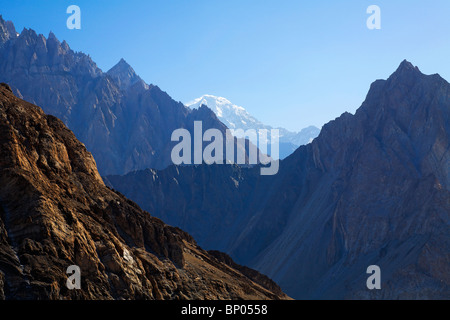 Pakistan - Karakorum - Hunza Valley - Passu - mountain landscape - Stock Photo