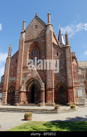 St. Magnus Cathedral, Kirkwall, Orkney - Stock Photo