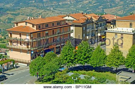 San Marino City, Flats Stock Photo: 97386107 - Alamy