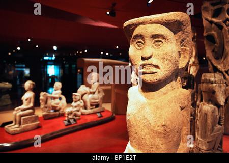 France, Paris, Quai Branly museum - Stock Photo
