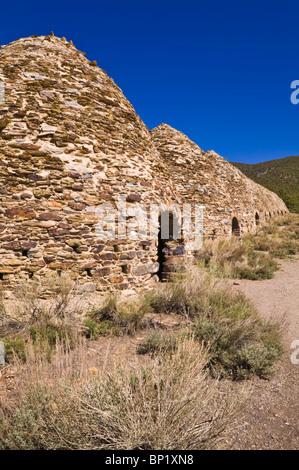 Wildrose Charcoal Kilns, Death Valley National Park. California - Stock Photo