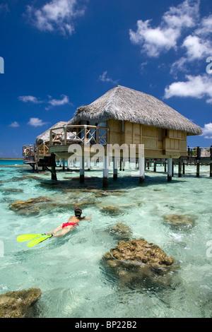 Snorkeling on Manihi Island, Manihi, French Polynesia