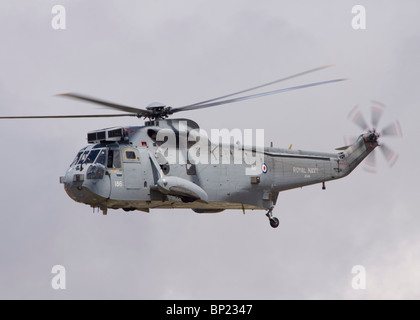 ZE418 Royal Navy Westland Sea King ASaC7 helicopter at RIAT 2009 - Stock Photo