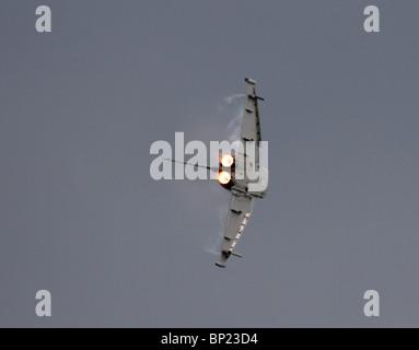ZJ801 BAE Systems Eurofighter EF-2000 Typhoon F1 jet fighter. - Stock Photo